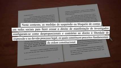Governo pede para STF suspender bloqueio de perfis ligados a Bolsonaro