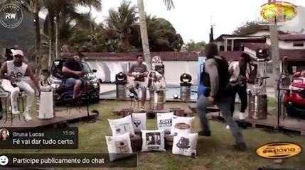 Tiroteio interrompe live do grupo Aglomerou em Angra dos Reis