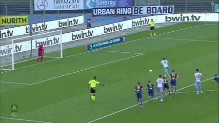 Os gols de Verona 1 x 5 Lazio pelo Campeonato Italiano