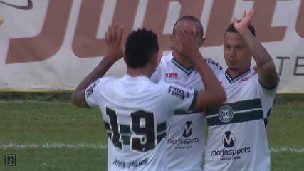 Paranaense: veja os gols de Cianorte 2 x 3 Coritiba, pela semifinal
