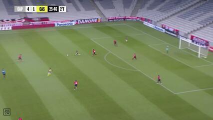 Veja os gols de Athletico 5x1 FC Cascavel, pelo jogo de ida das semifinais do Paranaense