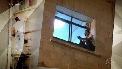 Palestino que escalou janela para ver mãe com Covid diz: 'Nenhum obstáculo ia me impedir'