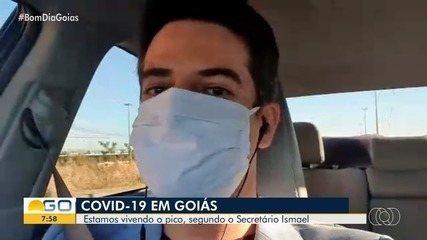 Estudos apontavam que pico da Covid-19 deve terminar hoje, em Goiás