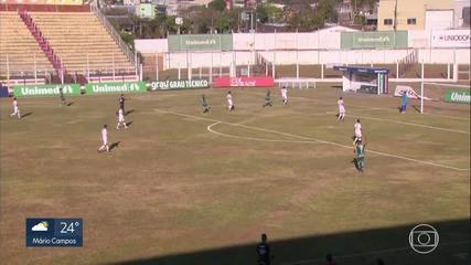 Caldense vence o Tupynambás por 4 a 0 pela 10ª rodada do Campeonato Mineiro