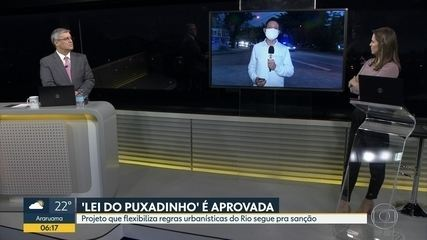 """Câmara de Vereadores do Rio aprovou a """" Lei do puxadinho """""""