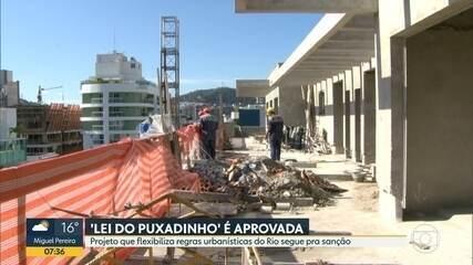 Vereadores do Rio aprovam a Lei do Puxadinho