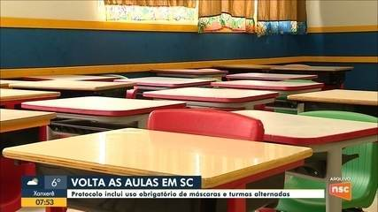 Sindicato dos Trabalhadores em Educação fala sobre retorno das aulas em SC