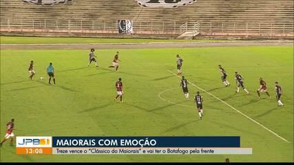 Reportagem de Treze 1 x 0 Campinense, pela rodada #10 do Paraibano