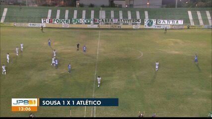 Reportagem de Sousa 1 x 1 Atlético-PB, pela rodada #10 do Paraibano
