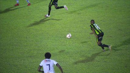 Veja os gols de URT 0 x 3 América-MG, pela 11ª rodada do Campeonato Mineiro
