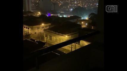 Terror em Botucatu: bandidos atacam agências bancárias e trocam tiros com a polícia