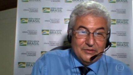 Ministro da Ciência e Tecnologia, Marcos Pontes, diz que testou positivo para covid