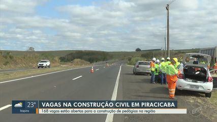Região de Piracicaba tem 160 vagas para profissionais da construção civil