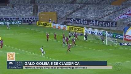Patrocinense é goleado pelo Atlético-MG, mas vai à Série D de 2021