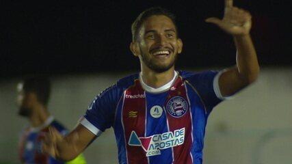 Os gols de Jacuipense 0 x 2 Bahia pela semifinal do Campeonato Baiano