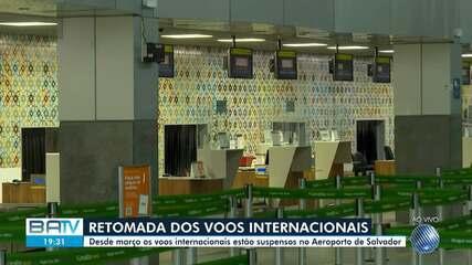 Aeroporto de Salvador começa a retomada de vôos internacionais com viagens para o Chile
