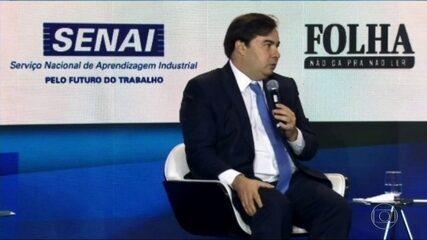 Presidente da Câmara, Rodrigo Maia, critica proposta do governo de criar novo imposto