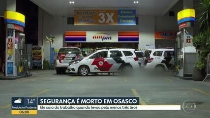 Segurança de posto de combustível é morto em Osasco