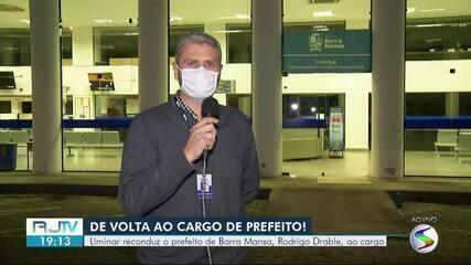 Rodrigo Drable volta ao cargo de prefeito de Barra Mansa após liminar do STF