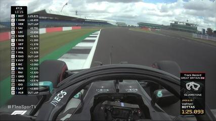 Valteri Bottas retoma o melhor tempo no treino livre em Silverstone