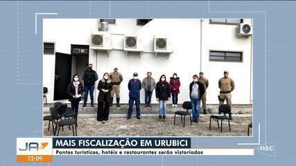 Pontos turísticos, hotéis e restaurantes serão vistoriados em Urubici