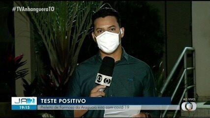 Prefeito de Formoso do Araguaia é diagnosticado com coronavírus