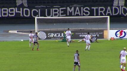Os gols de Botafogo 1 x 1 Fluminense em amistoso