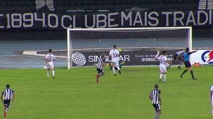 Melhores momentos: Botafogo 1 x 1 Fluminense em amistoso