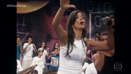 Ivete relembra quando foi ao palco do 'Altas Horas' em 2000