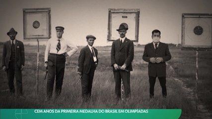 Cem anos da primeira medalha do Brasil em Olimpíadas