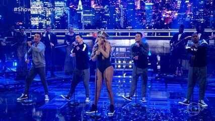 """Ludmilla canta """"Love On Top"""" como Beyoncé"""