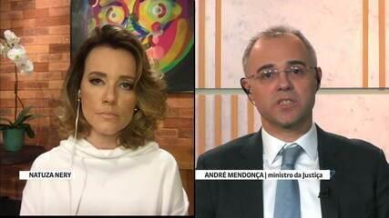 'Eu tenho compromisso com a Constituição', afirma André Mendonça