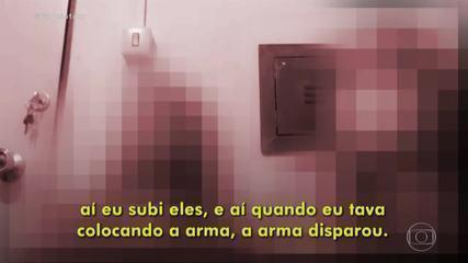 Jovem que matou amiga com tiro em Cuiabá diz que não percebeu que o dedo estava no gatilho