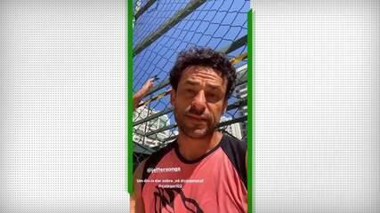 Fred perde no futvôlei para a dupla Nino e Calegari