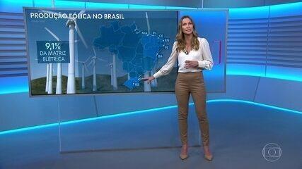 Nordeste tem recorde de geração eólica