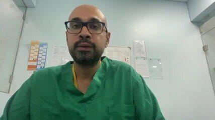 Médico brasileiro conta como socorreu feridos após explosão em Beirute, no Líbano
