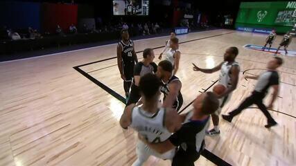 Melhores momentos: Brooklyn Nets 119 x 116 Milwaukee Bucks pela NBA