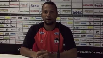 """Jairo Santos faz projeção de postura do River-PI para a Série D: """"Tem que chegar 200km/h"""""""