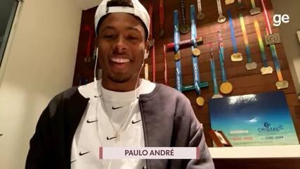 Chamada Olímpica: Guilherme Roseguini entrevista Paulo André, do atletismo