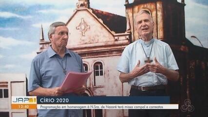 Sem a tradicional procissão, Círio em Macapá terá missa campal e carreata