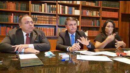'Vamos tocar a vida', diz Bolsonaro sobre marca de 100 mil mortos por coronavírus no país