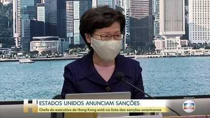 Estados Unidos anunciam sanções contra Hong Kong