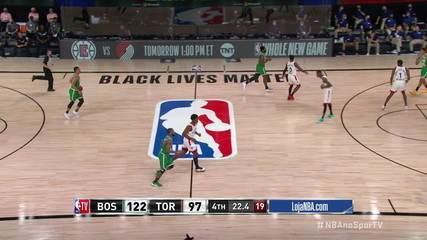 Melhores momentos: Toronto Raptors 100 x 122 Boston Celtics, pela NBA