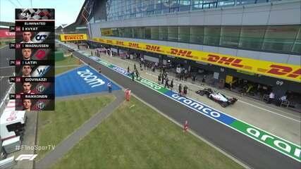 Cinco pilotos eliminados depois do fim do Q1