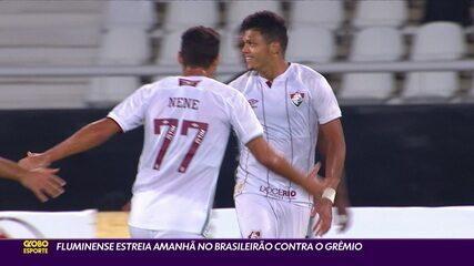 Fluminense enfrenta o Grêmio neste domingo em sua estreia no Brasileirão