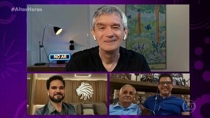 Zezé Di Camargo e Luciano emocionam o pai Francisco com mensagem