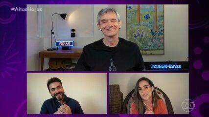 Wanessa Camargo revela que sempre quis conhecer o Padre Fábio de Melo