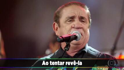 Zé Ramalho canta o sucesso 'Entre a Serpente e a Estrela'