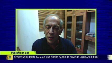 Walter Feldman fala sobre adiamento da partida entre Goiás e São Paulo e diz que contra-prova chegou apenas poucas horas antes do jogo