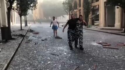 Sobreviventes relembram dia da explosão que matou 158 em Beirute, no Líbano